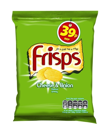 Picture of PM 39P FRISPS CHEESE & ONION 34G X 30