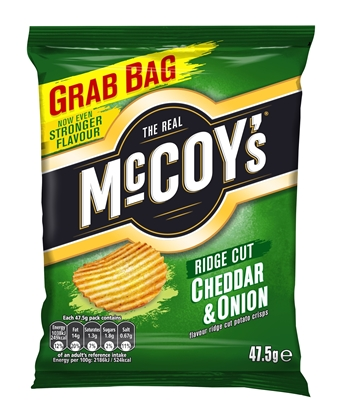 Picture of MCCOYS CHEDDAR & ONION STD x 26