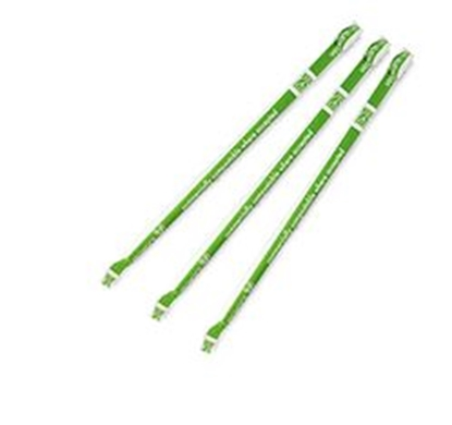 Picture of VEGWARE WHITE 8MM PAPER STRAWS WRAPPED X 200