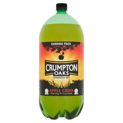 Picture of CRUMPTON OAKS CIDER 2.5LTR x4