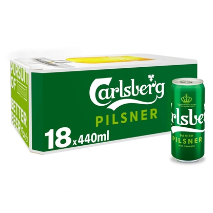Picture of CARLSBERG 440ML 18PK X 1