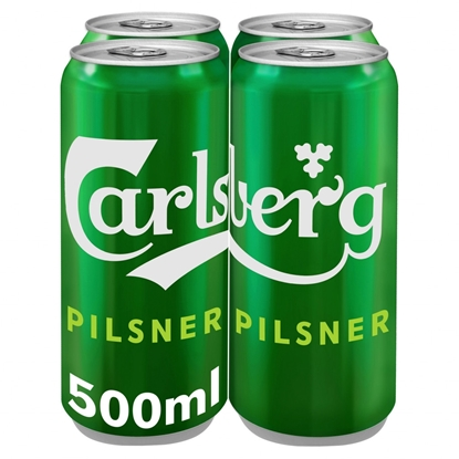 Picture of CARLSBERG 500MLS 4PK X 6