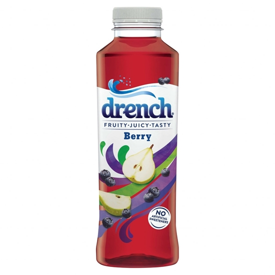 Picture of DRENCH   BERRY  500ML x 12