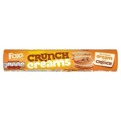 Picture of FOX'S GOLD CRUNCH CREAM 230Gx16
