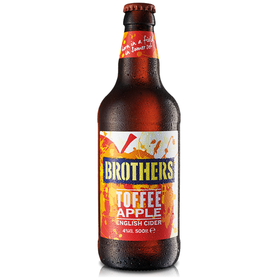 Picture of BROTHERS TOFFEE APPLE CIDER 500ML X 12