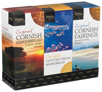 Picture of FURNISS FAVOURITES (CORNISH) 600G GIFT BOX X 4
