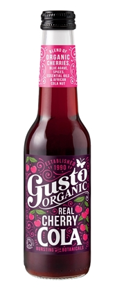Picture of GUSTO REAL CHERRY COLA 275ml X 12