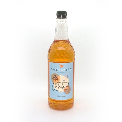 Picture of SUGAR FREE CARAMEL SYRUP SB