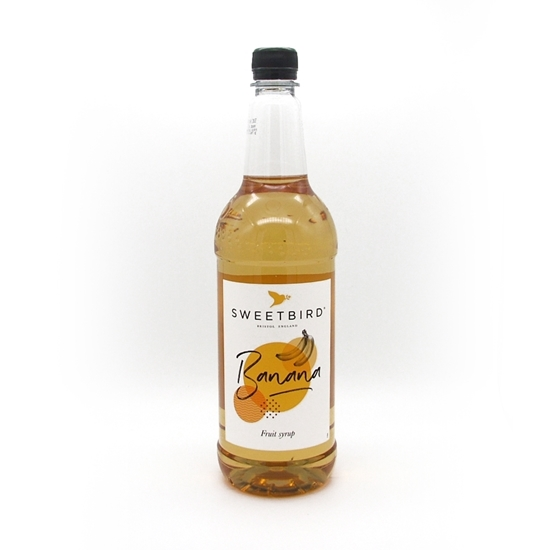 Picture of SWEETBIRD SYRUP BANANA X 1
