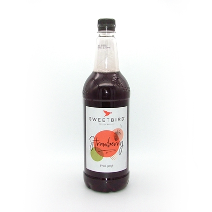 Picture of SWEETBIRD SYRUP STRAWBERRY X 1