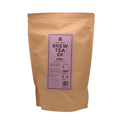 Picture of BREW TEA LOOSE 500G EARL GREY