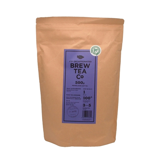 Picture of BREW TEA LOOSE 500G Co2 DECAF