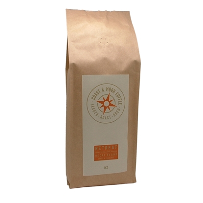 Picture of COAST AND MOOR RETREAT DECAF ground ESPRESSO KG