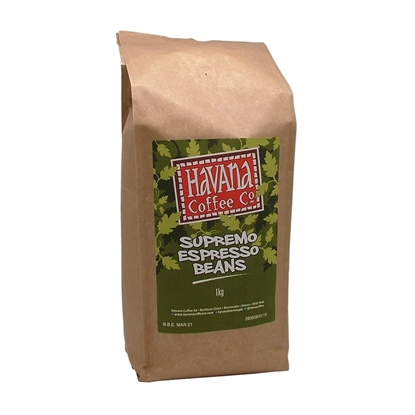 Picture of *SINGLE* HAVANA SUPREMO BEANS 1KG