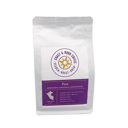 Picture of 250G PERU APROCOYCE AMAZONAS COOPERATIVE BEANS