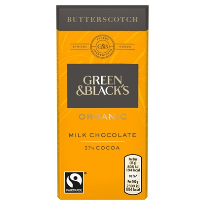 Picture of GREEN & BLACKS BUTTERSCOTCH *35G* x30