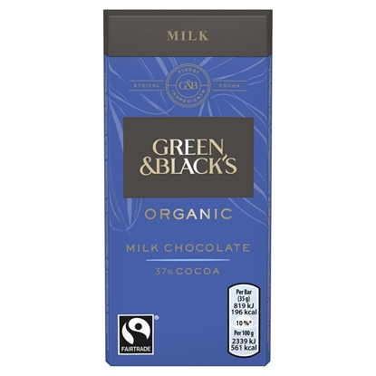 Picture of GREEN & BLACKS MILK *35G* X 30