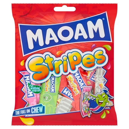 Picture of HARIBO MAOAM STRIPES 140G X 12