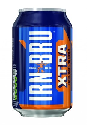 Picture of IRN BRU XTRA 330ML CAN x 24