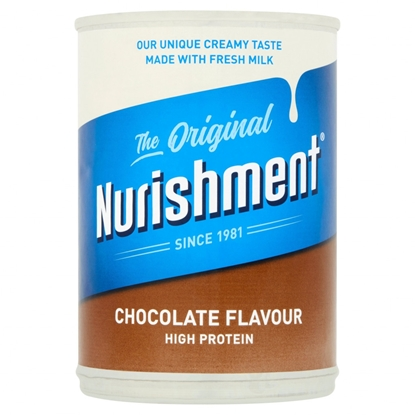 Picture of NURISHMENT PROTEIN DRINK *CHOCOLATE* 400G X 12