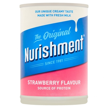 Picture of NURISHMENT PROTEIN DRINK *STRAWBERRY* 400G X 12