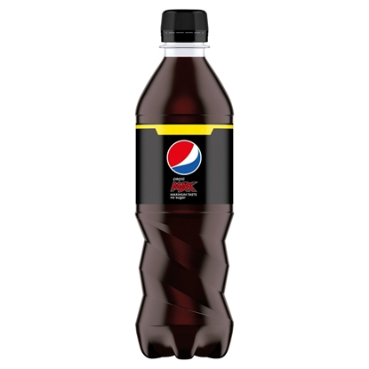 Picture of PM £1 2 FOR £1.70 PEPSI MAX 500ML BOTTLE X 12