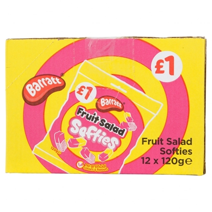 Picture of PM £1 FRUIT SALAD SOFTIES 120G X 12