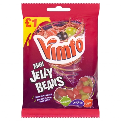 Picture of PM £1 VIMTO MINI JELLY BEANS 160G x 12