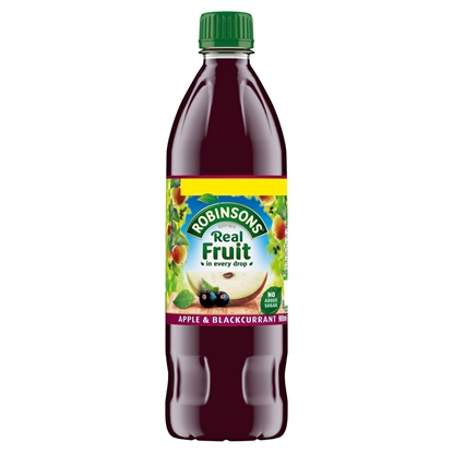 Picture of PM £1.49 ROBINSONS SQUASH APPLE & BLACK 900ML X 12
