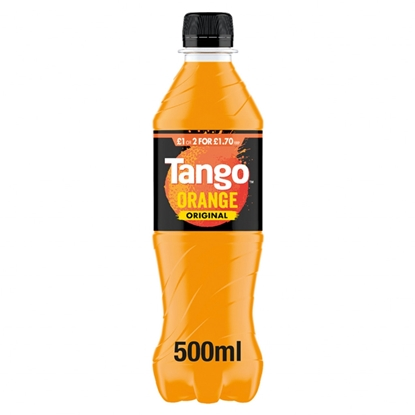 Picture of PM £1/ 2 FOR £1.70 TANGO ORANGE 500ML BOTTLE x 12