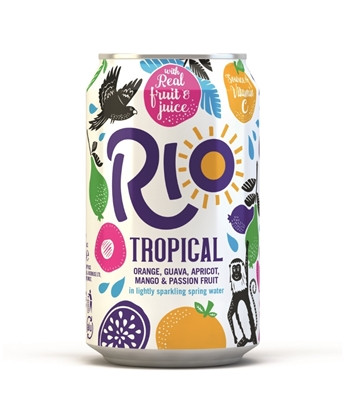 Picture of RIO TROPICAL 330MLS CANS X 24