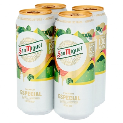 Picture of SAN MIGUEL CANS 500ML 4PK X 6