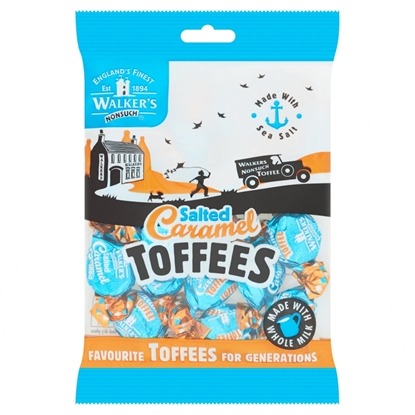 Picture of WALKERS SALTED CARAMEL TOFFEES X 12