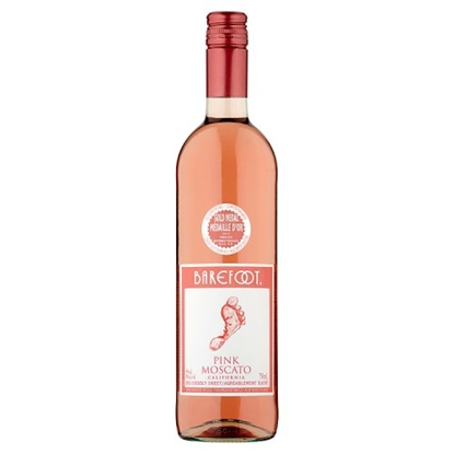 Picture of BAREFOOT PINK MOSCATO 75CL X 6