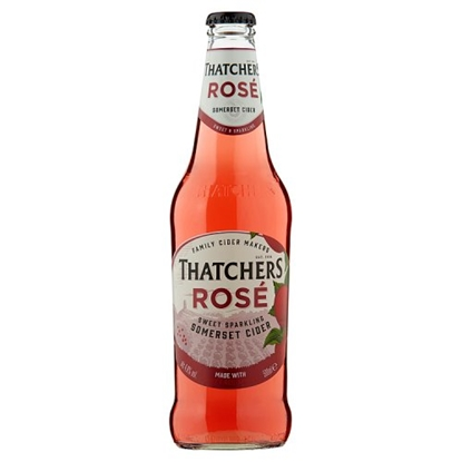 Picture of THATCHERS *ROSE* BOTTLES 500ML X 6