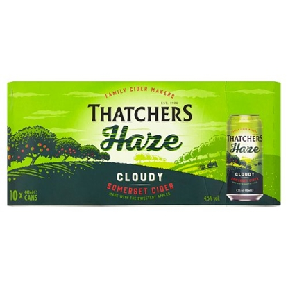Picture of THATCHERS HAZE CIDER 440ML *CANS* 10PK X 2