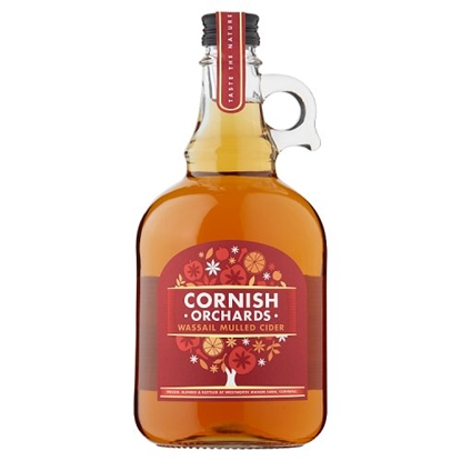 Picture of CORNISH ORCHARD WASSAIL MULLED 1LT.x6
