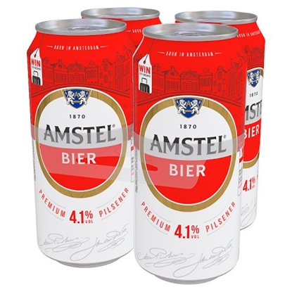 Picture of AMSTEL LAGER 4PK X 440ML X 6
