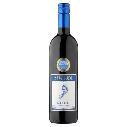 Picture of BAREFOOT MERLOT 75CL X 6
