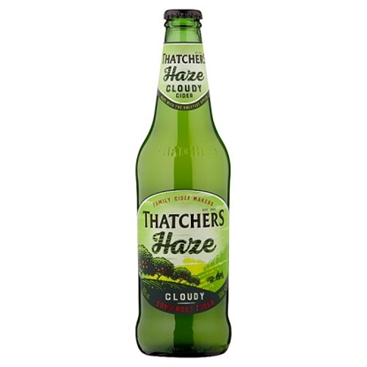 Picture of THATCHERS HAZE *BOTTLES*  500MLS  X 6