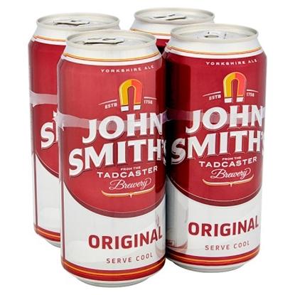 Picture of JOHN SMITHS ORIGINAL 440ML 4PK X 6