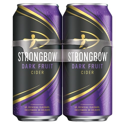 Picture of STRONGBOW DARK FRUIT 4PK 440ML x 6
