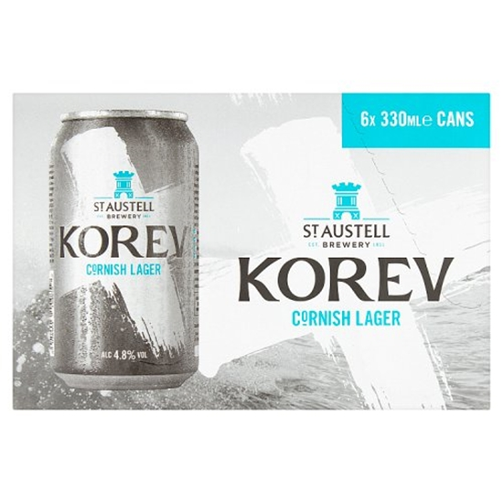 Picture of KOREV CANS 330ML 6 PK X 4