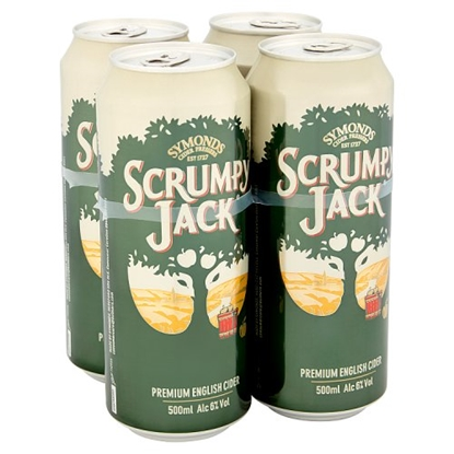 Picture of SCRUMPY JACK 500ML 4PK X 6