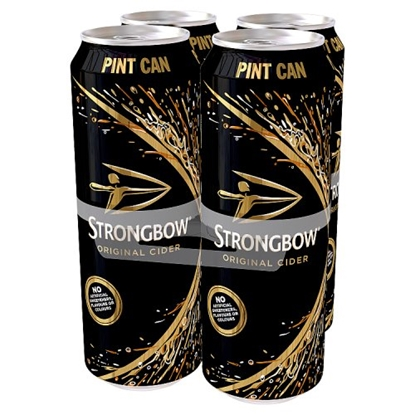 Picture of STRONGBOW CIDER *PINT * 568ML 4PKx6