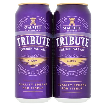 Picture of TRIBUTE **CANS** 500ML 4 PACK X 6