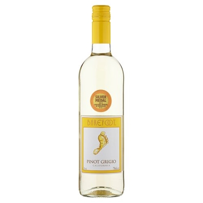 Picture of BAREFOOT PINOT GRIGIO 75CL X 6