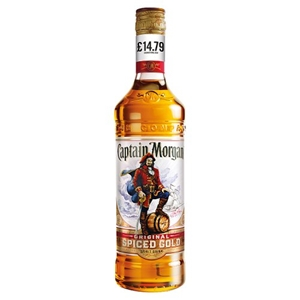Picture of PM £14.79 CAPTAIN MORGANS SPICED 70CL X 6