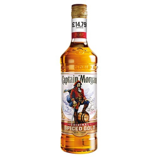 Picture of PM £14.79 MORGANS SPICED 70CL X 6