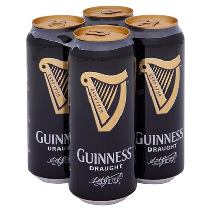 Picture of GUINNESS DRAUGHT 440ML 4PK X 6